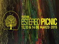 Listas medidas  para concierto stereo picnic