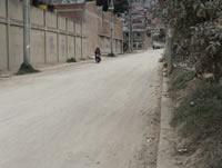 Con acción popular se busca pavimentar  una calle en Quintanares
