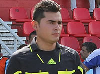 Árbitro  de Soacha pita en la Liga del fútbol profesional colombiano