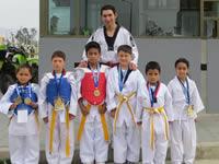 Niños taewkondistas de Ciudad Verde obtienen reconocimiento