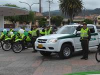 Sibaté renovó su parque policial automotor