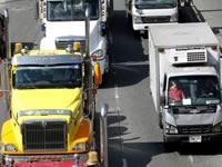 Se amplía restricción para vehículos de carga