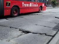 Iniciará intervención de losas dañadas de TransMilenio
