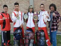 Soachunos se destacan  en circuito nacional de kickboxing