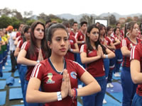 Por la paz: colegio de Bogotá rompió un récord mundial