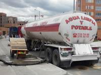 Con carrotanques surten de agua a nuevos conjuntos de  Ciudad Verde
