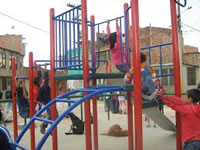 Con un bazar Llano Grande inaugura  obras para la comunidad
