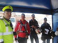 Policía de Soacha sensibiliza a motociclistas