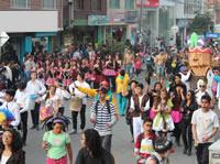 Con desfile y comparsa el Instituto de Deportes de Soacha celebra el Día del niño