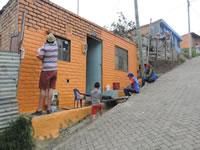 Ruta de colores llegó a Ubaté