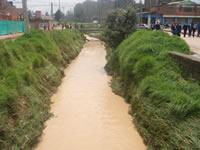 Alarmante estado del río Soacha