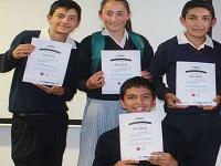 670 estudiantes de Cundinamarca ahora son miembros de la liga de agua