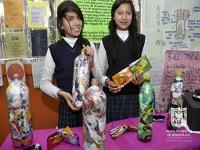 Estudiantes aprenden sobre el comparendo ambiental