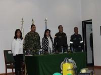 Secretaría de Gobierno de Cundinamarca entregó elementos de dotación al Ejército, Policía, Bomberos y Gestión del Riesgo