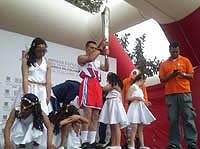 En Soacha se prendió la llama de la amistad Fides 2015