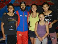 Soacha presente en la primera válida de la copa Colombia de escalada deportiva 2015