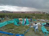 En Soacha se adelanta desalojo a invasores de humedal Tierra Blanca