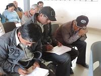 Líderes comunales de Susa se capacitaron en habilidades administrativas