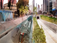Inicia el 'MetroTour' por 5 sectores de Bogotá