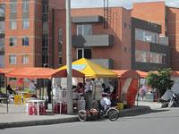 Ciudad Verde se inunda de vendedores ambulantes