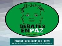 Nuevo espacio para debatir en paz en Bogotá