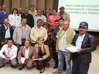 Cundinamarca asigna recursos para recuperación del medio ambiente
