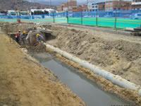 Avanzan obras de saneamiento básico en León XIII