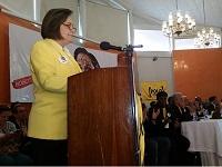 Clara López ratifica su candidatura a la Alcaldía de Bogotá