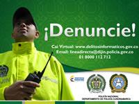 """Policía promueve campaña """"contra los delitos informáticos"""""""