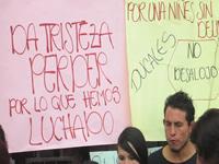 Familias del Barrio Villa Carola protestan por desalojos