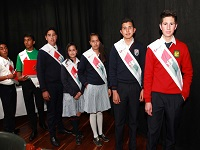 347 contralores ecolares asumen oficialmente sus cargos