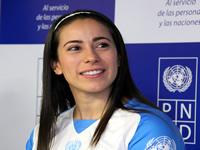 Niños de Soacha conocieron a Mariana Pajón