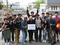 Escuela cultural de Sibaté estuvo en el festival de artes escénicas de Corea