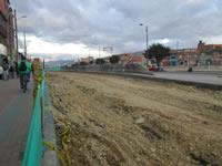 Caos de movilidad en Soacha por obras en la comuna dos