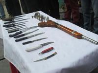 Con éxito culminó el plan desarme en la comuna uno de Soacha