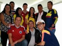 Familia periquista se reunió durante partido de la selección Colombia