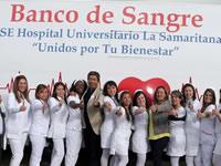 Sabana Centro estrena unidad móvil de sangre