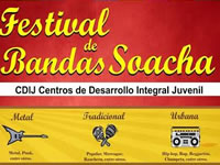 Jóvenes de Soacha podrán participar en Festival musical y de experiencias exitosas