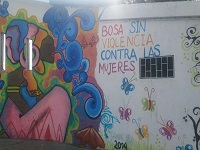 Jóvenes de Bosa recuperan espacios libres con arte