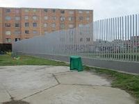 Terminado el encerramiento del jardín infantil Yachay en León XIII