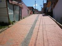 Se inauguran cinco obras adoquinadas en Soacha
