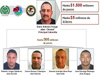 EE.UU solicita en extradición a cabecillas del Clan Úsuga
