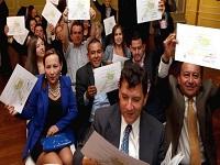 100 líderes de Cundinamarca se graduaron en formulación de proyectos