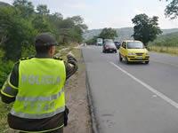 Vigilancia permanente en vías de Cundinamarca durante el  puente festivo
