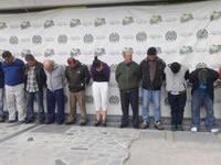 Capturan 18 integrantes de banda delincuencial en Soacha