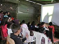 Con cine la comunidad del Manzano quiere mostrar sus problemáticas