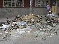 Constructora abandona escombros en vías públicas de Soacha