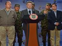 Santos responsabiliza de los atentados en Bogotá al ELN