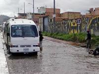 Inundación en Compartir origina traumatismos en la movilidad del sector