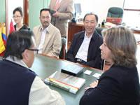 Delegación China visitó Cundinamarca para aprender procesos cafeteros